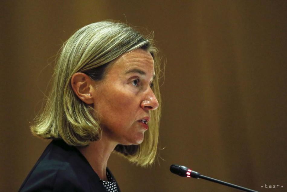 Mogheriniová nemá záujem o druhý mandát šéfky diplomacie EÚ 0b439ac894d