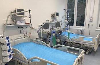 V Ružomberku otvorili nový pavilón pre pacientov s COVID-19