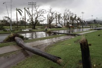 Hurikán Sandy sa prehnal Karibikom