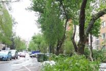 Slovensko Bratislava Lamač katastrofy počasie žive