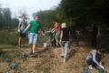 Účelové cvičenie - ochrana sadeníc proti lesnej zveri