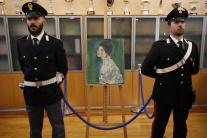 Nájdená maľba Portrét dámy od Gustava Klimta