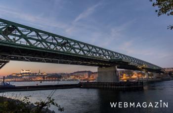 Najstarší pevný most v Bratislave otvorili pred 130 rokmi