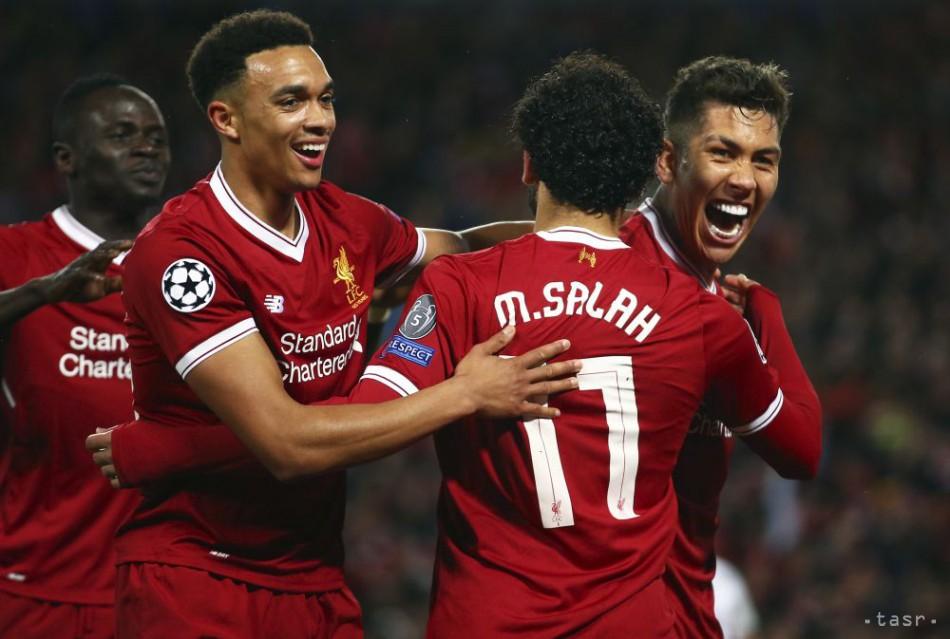 LIGA MAJSTROV: Liverpool zdolal v semifinálovej prestrelke AS Rím