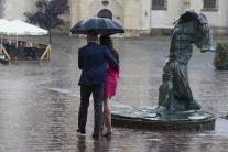 Prešov počas búrky