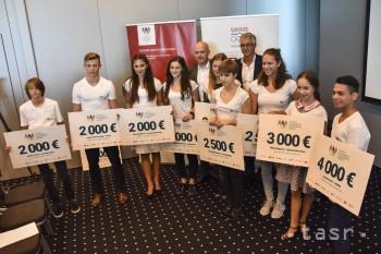 Nadácia SOV rozdelila 30-tisíc eur medzi mladé talenty