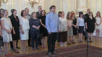 A.Kiska prijal pedagógov a mentorov zapojených do Komenského inštitútu