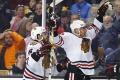 VIDEO: Hossa rozhodol o výhre Chicaga: Puk si našiel moju hokejku