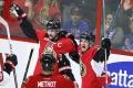 NHL: Ottawa a Pittsburgh vedú 2:0, hrdinom Senators štvorgólový Pageau