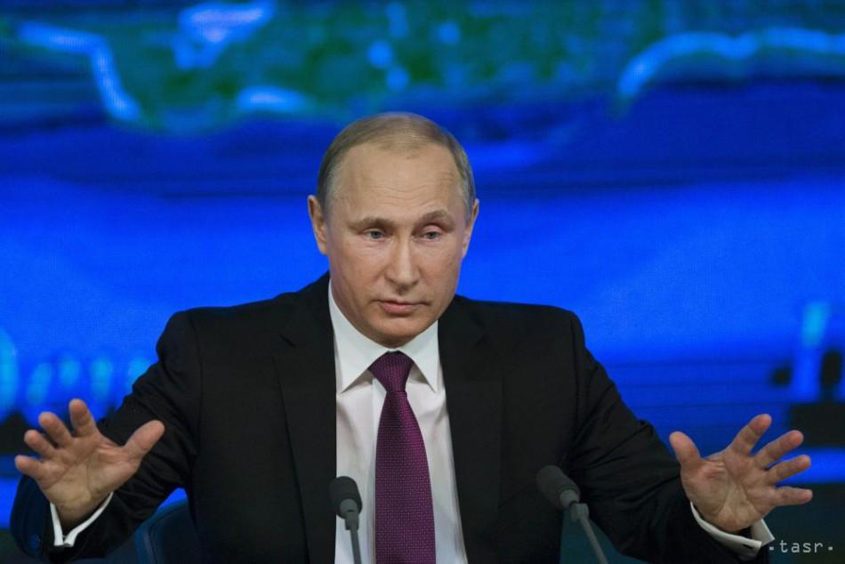 Ekonomika a kríza na Ukrajine sú top témy Putinovej výročnej tlačovky