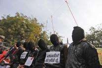 Demonštrácie za trest smrti pre znásilňovateľov