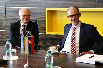 Nemecký veľvyslanec diskutoval o aktuálnych výzvach v Európe