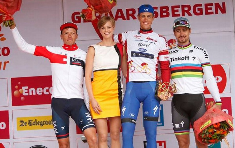 Sagan obsadil na Eneco Tour 3. stupienok, no je svetovou jednotkou