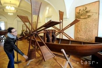 Boli sme na výstave modelov a vynálezov Leonarda da Vinciho