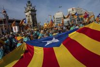 Národný deň Katalánska v Barcelone