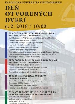 Pozvánka na DOD 2018