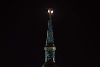 Zatmenie Mesiaca v Bratislave