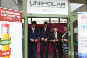 Prešovská univerzita má nové vedecké pracovisko Unipolab