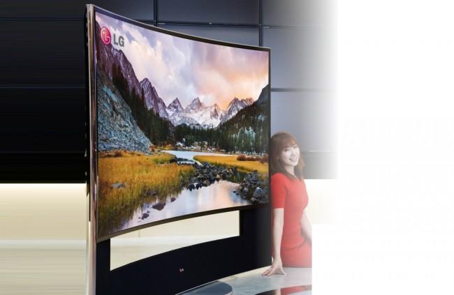 2c47b0d70 Najväčší zakrivený televízor na svete - Technológie - Webmagazin ...