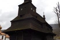 Drevený chrám sv. Michala Archanjela v Ruskom Poto