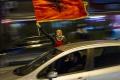 V Čiernej Hore vztýčili albánsku vlajku a tabuľu Kosovská republika