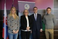 Prednáškový cyklus Diplomacia v praxi otvorila veľvyslankyňa Nórska