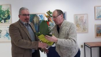 Nové Zámky: Spisovateľ a historik Miloš Jesenský sa stretol so žiakmi