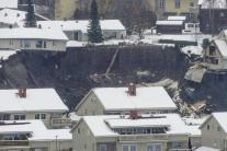 V Nórsku došlo k masívnemu zosuvu pôdy
