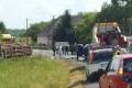 VIDEO: Zrážka kamiónu a autobusu pri Krupine má jednu obeť, 9 ranených