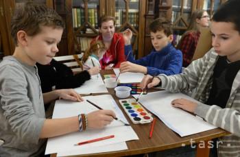 V tábore v Löfflerovom múzeu sa deti zoznamujú s výtvarným umením
