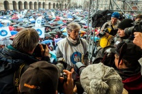 V Budapešti protestujú tisíce pedagógov