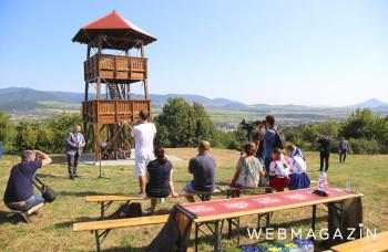 Na kopci nad Sabinovom slávnostne otvorili vyhliadkovú vežu