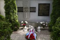 Pietna spomienka pri Pamätníku usmrtených na hrani