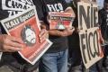Odstúpenie R. Kaliňáka žiadalo na proteste približne 300 ľudí
