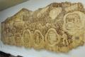 Nadrozmerná drevená plastika približuje dominanty Hronského Beňadika