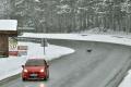 Horské priechody Kremnické Bane a Donovaly sú pre sneženie uzavreté