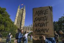 Klimatický štrajk vo Veľkej Británii