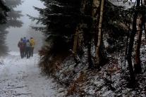 Zima v Slovianskej doline v regióne Turiec